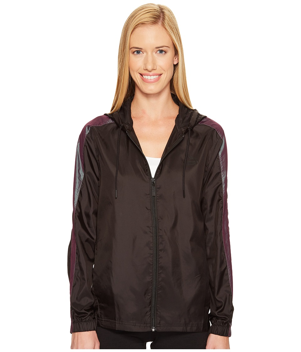 PUMA - T7 Windrunner Iridescent (PUMA Black) Women's Coat