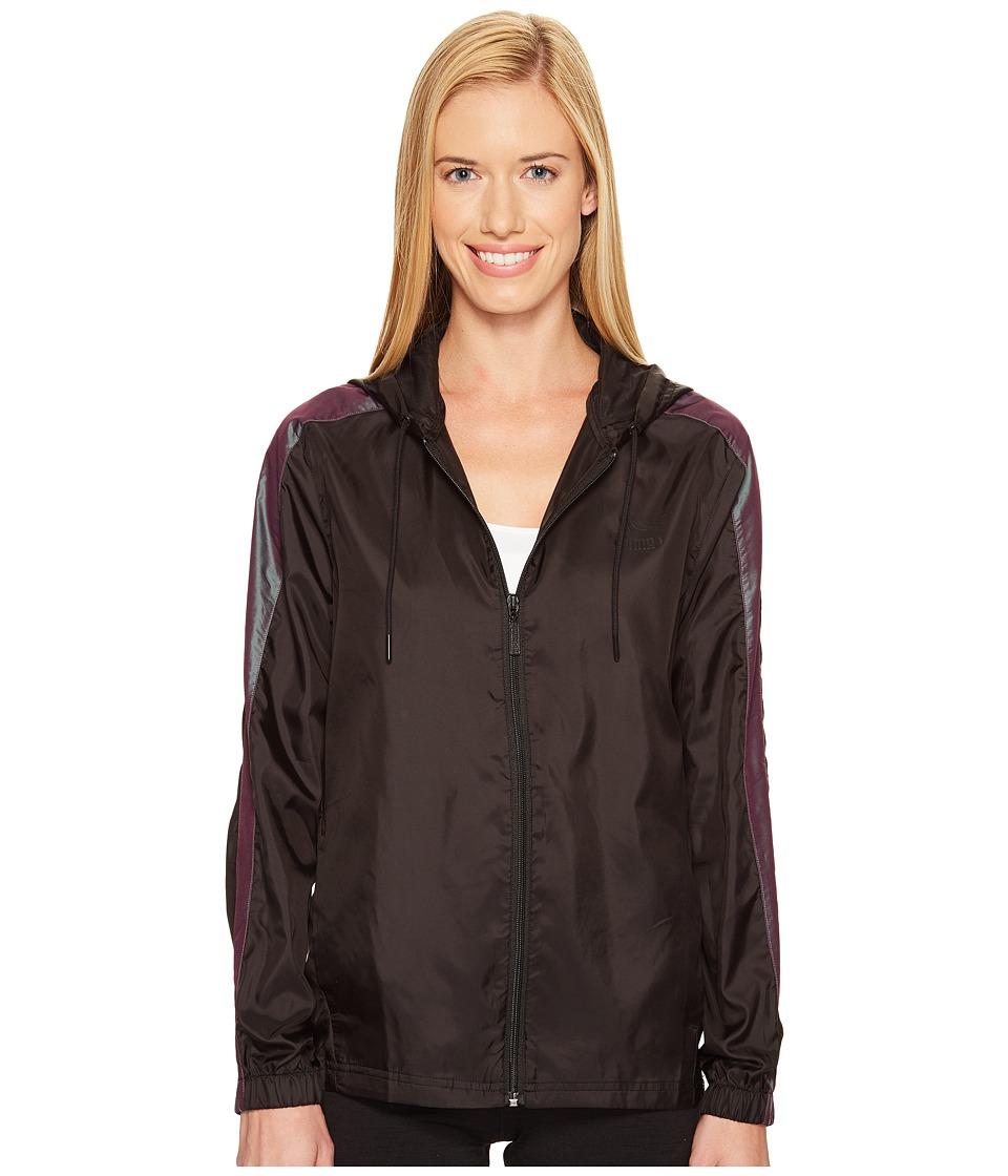PUMA - T7 Windrunner Iridescent (PUMA Black) Women's Coat