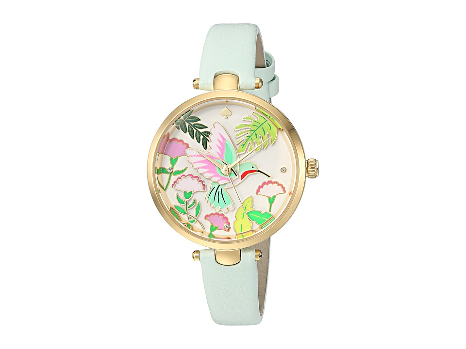 Kate Spade New York - Hummingbird Holland - KSW1309 (Mint Splash) Watches