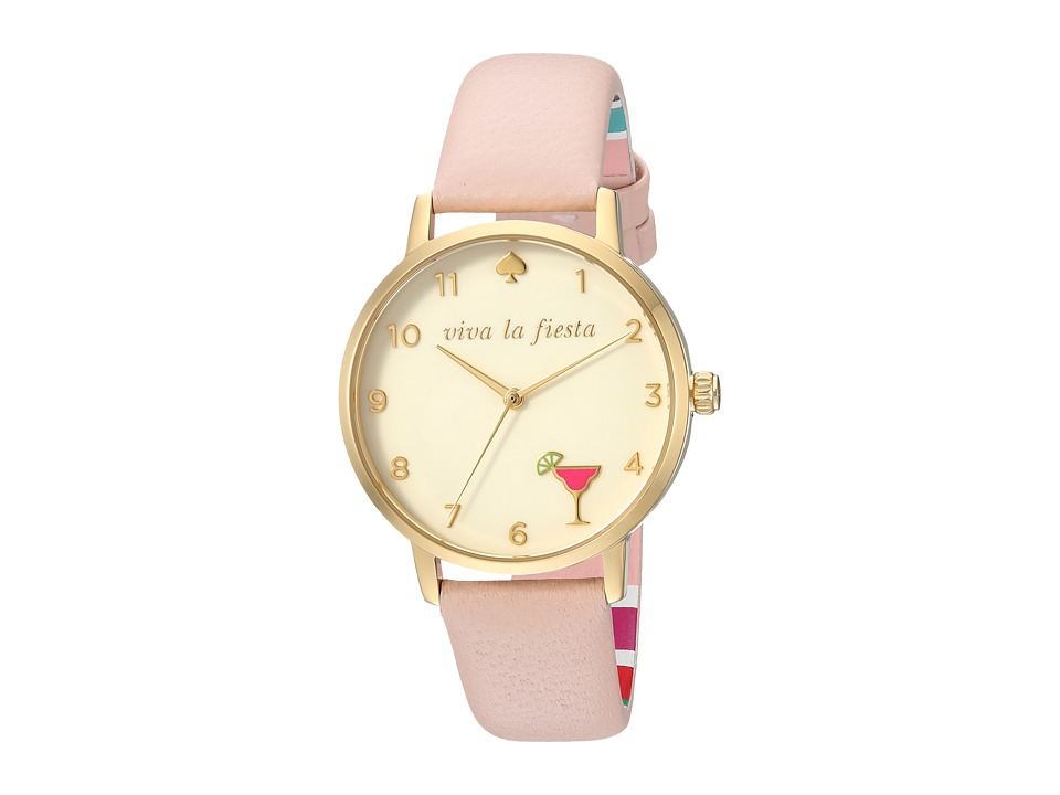 Kate Spade New York - 5 O'Clock Metro - KSW1310 (Pink) Watches
