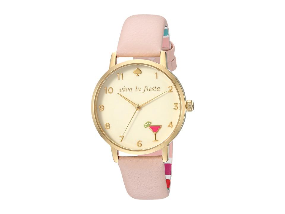 Kate Spade New York - 5 O'Clock Metro - KSW1310 (Pink) Watches