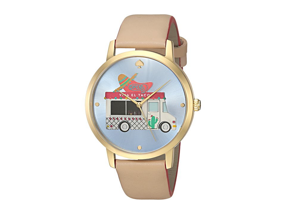 Kate Spade New York - Taco Truck Metro Grand - KSW1327 (Vachetta) Watches