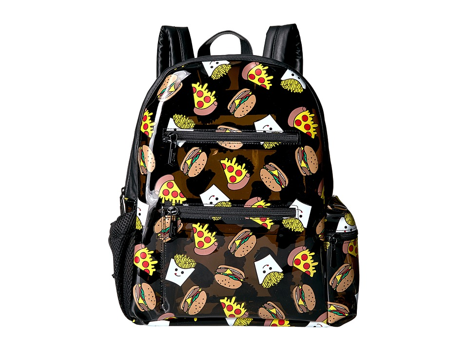 Circus by Sam Edelman - Junk Food Backpack (Black Jelly/Black PU) Backpack Bags
