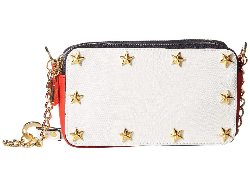 Circus by Sam Edelman - Rayden Crossbody (White/Red/Navy) Cross Body Handbags