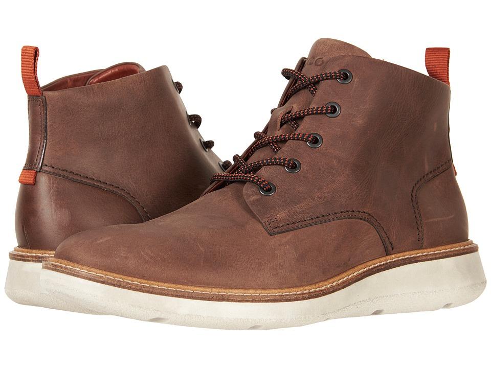 ECCO Aurora Mid Boot (Cocoa Brown) Men