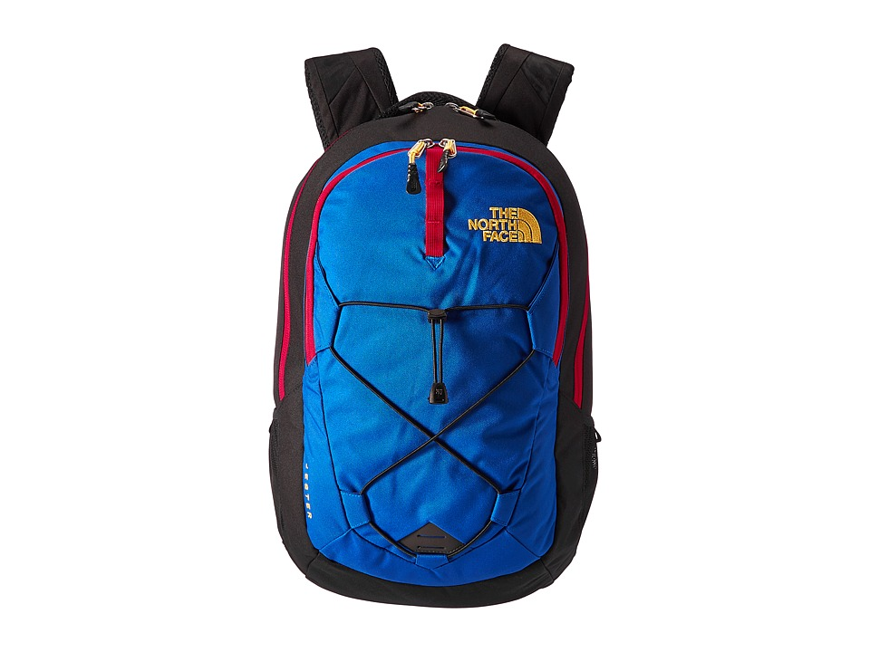 The North Face Jester (Bright Cobalt Blue/TNF Black) Backpack Bags