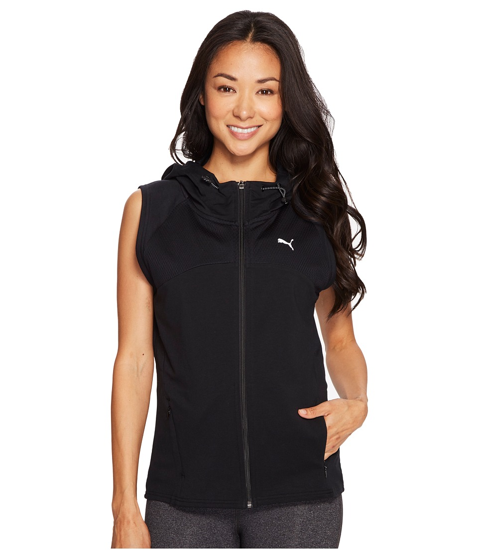 PUMA - Transition Sleeveless Jacket (PUMA Black) Women's Sleeveless