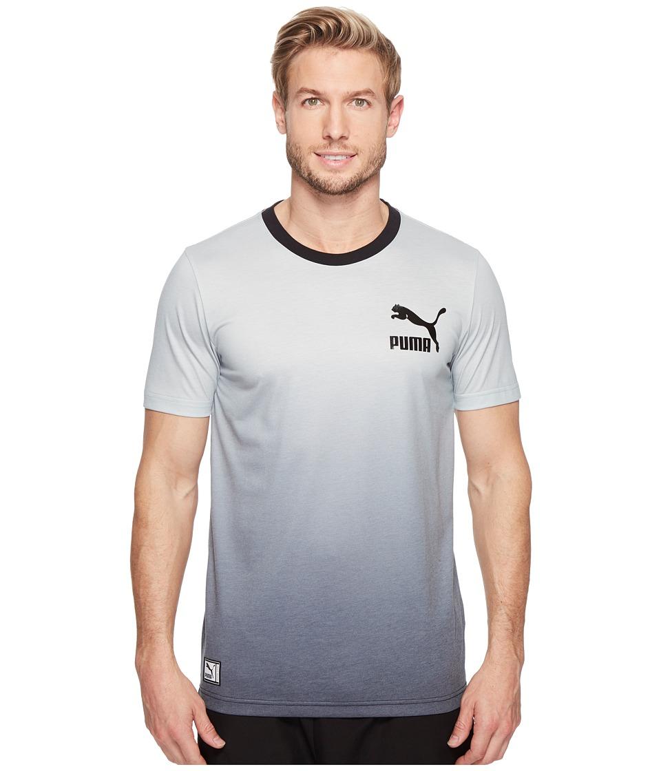PUMA - Cosmic Tee (Smoked Pearl/Black Gradient) Men's T Shirt