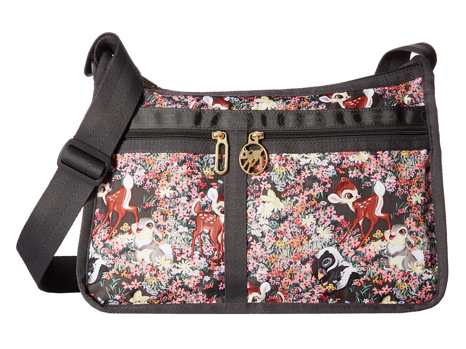 LeSportsac - Deluxe Everyday Bag (Bambi and Friends) Cross Body Handbags