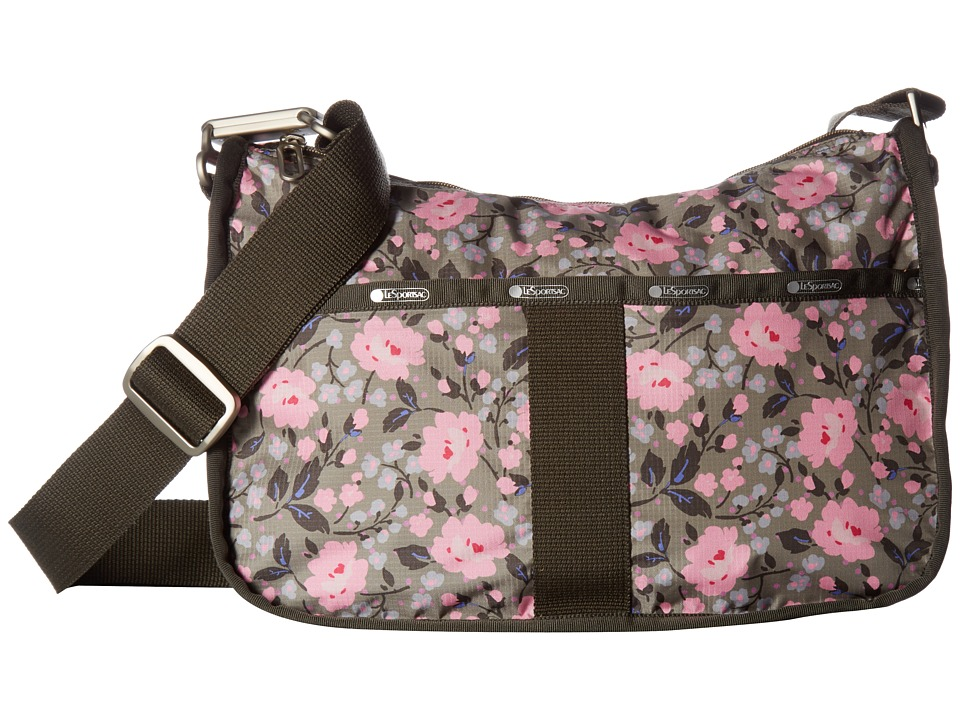 LeSportsac - Essential Hobo (Pink Rosette) Hobo Handbags