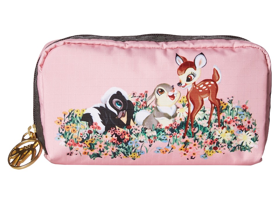 LeSportsac - Rectangular Cosmetic (Bambi's Buddies) Clutch Handbags