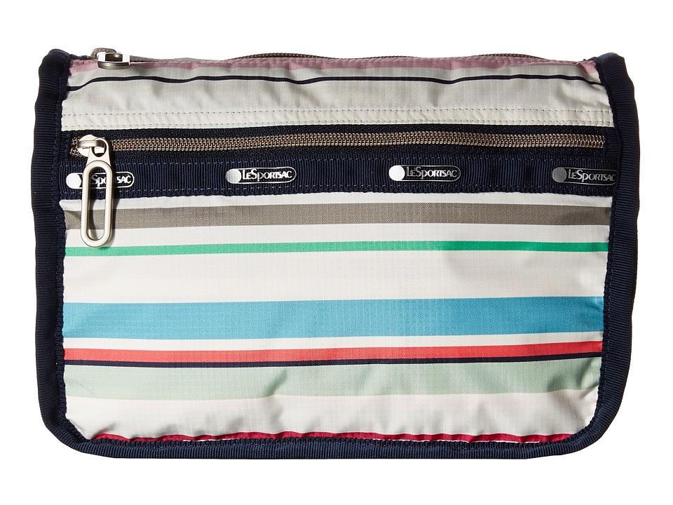 LeSportsac - Everyday Cosmetic (Blossom Stripe) Handbags