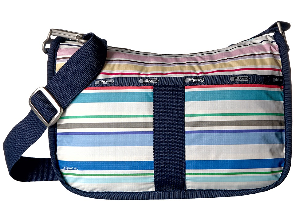 LeSportsac - Essential Hobo (Blossom Stripe) Hobo Handbags