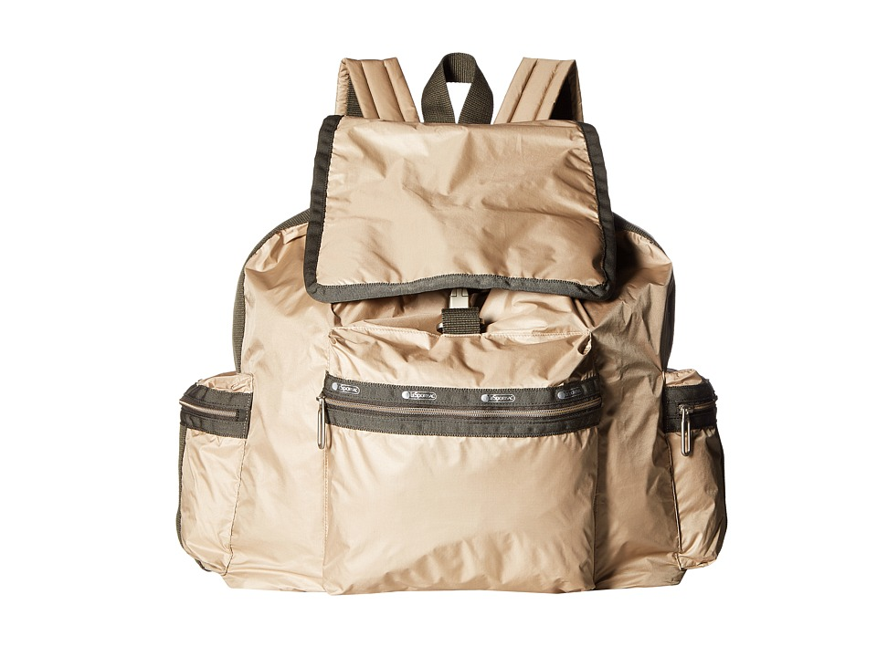 LeSportsac - 3 Zip Voyager (Travertine) Bags