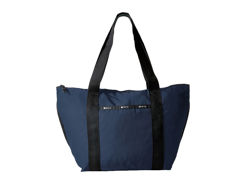 LeSportsac - On The Go Tote (Classic Navy) Tote Handbags