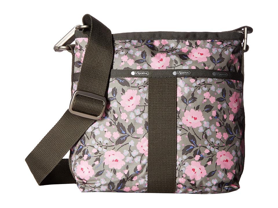 LeSportsac - Essential Crossbody (Pink Rosette) Cross Body Handbags