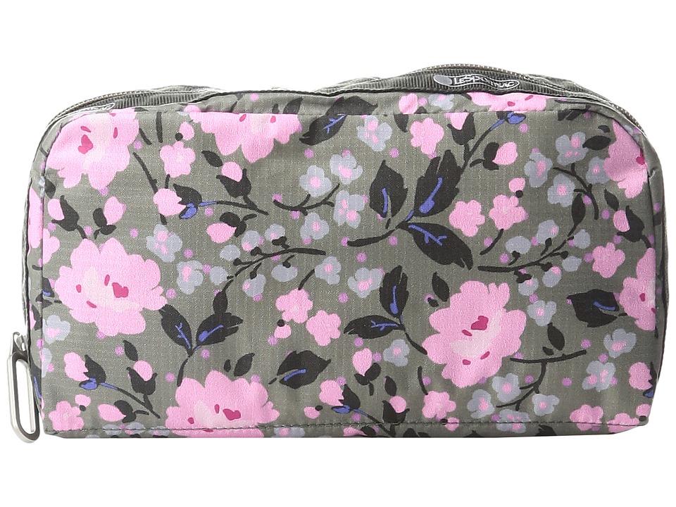 LeSportsac - Essential Cosmetic (Pink Rosette) Handbags