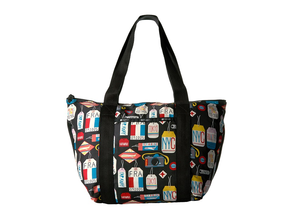 LeSportsac - On The Go Tote (Boarding Pass) Tote Handbags
