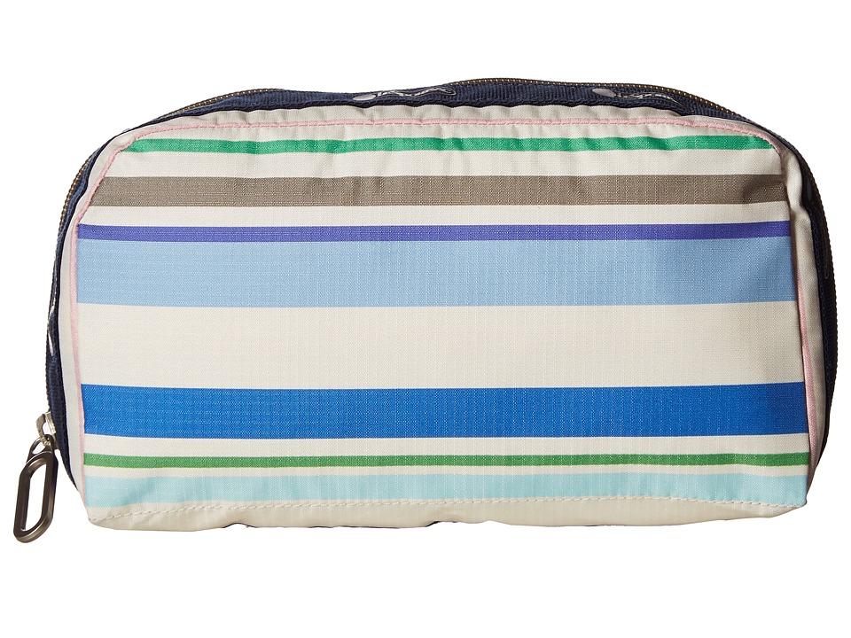 LeSportsac - Essential Cosmetic (Blossom Stripe) Handbags