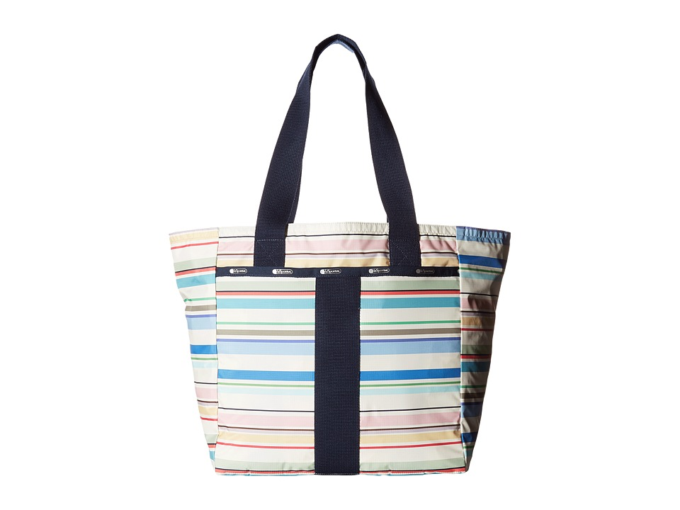 LeSportsac - Everyday Tote (Blossom Stripe) Tote Handbags