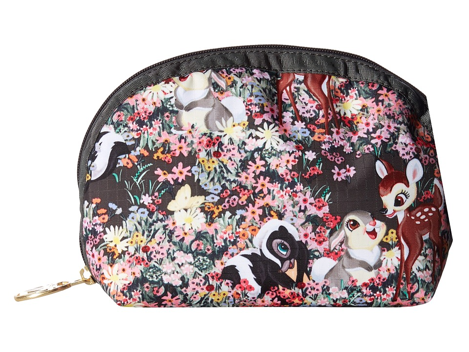 LeSportsac - Medium Dome Cosmetic (Bambi and Friends) Cosmetic Case