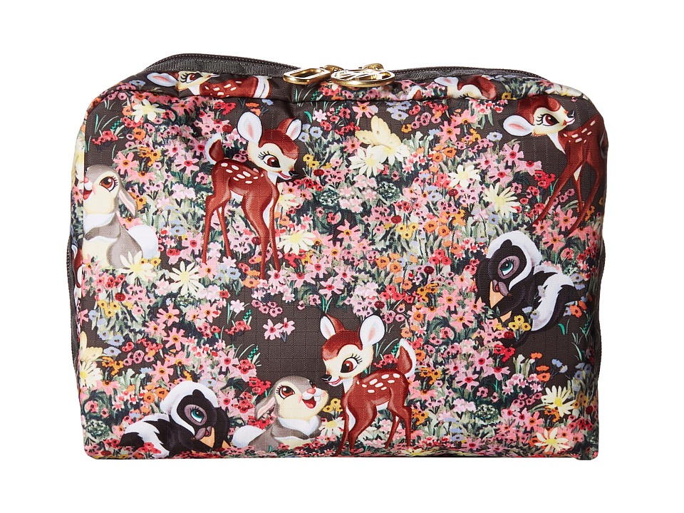 LeSportsac - Extra Large Rectangular Cosmetic (Bambi and Friends) Handbags