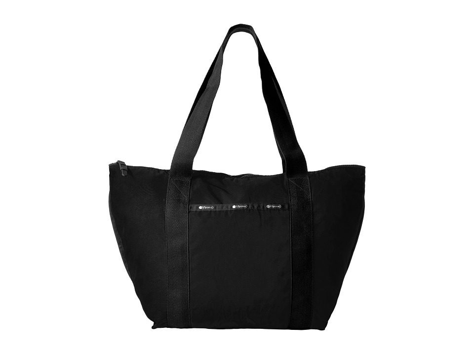 LeSportsac - On The Go Tote (True Black) Tote Handbags