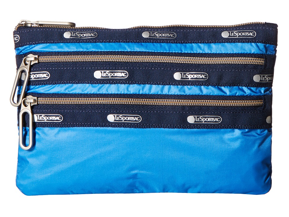 LeSportsac - Classic 3 Zip Pouch (Dive) Bags