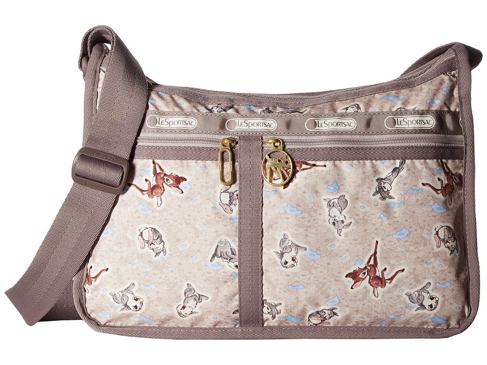 LeSportsac - Deluxe Everyday Bag (Thumpin Around) Cross Body Handbags