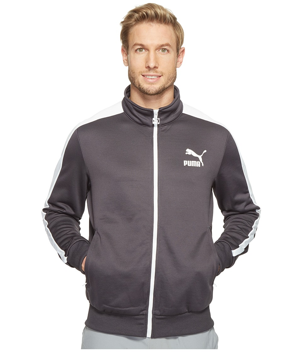 PUMA - Archive T7 Track Jacket (Periscope/Puma White) Men's Coat