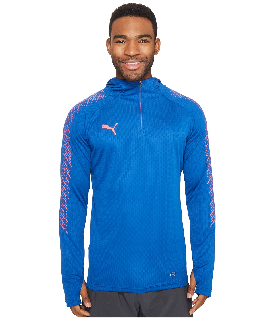 PUMA - IT Evotrg Hoodie (True Blue/Bright Plasma) Men's Sweatshirt