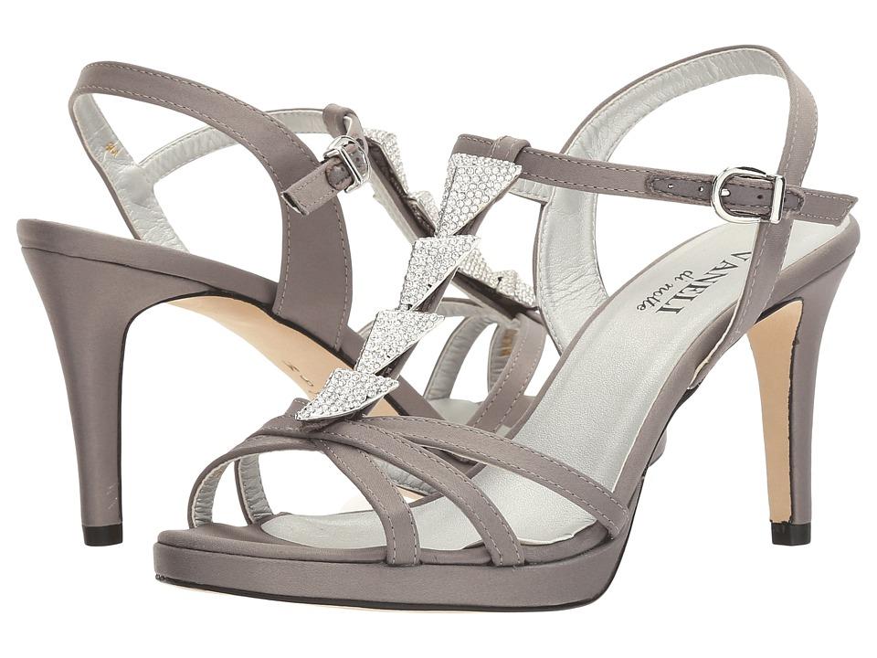 Vaneli - Triana (Pewter Satin) Women's Shoes