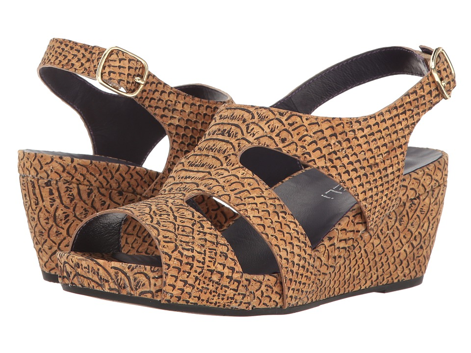 Vaneli - Isey (Natural Serpy Cork) Women's Dress Sandals