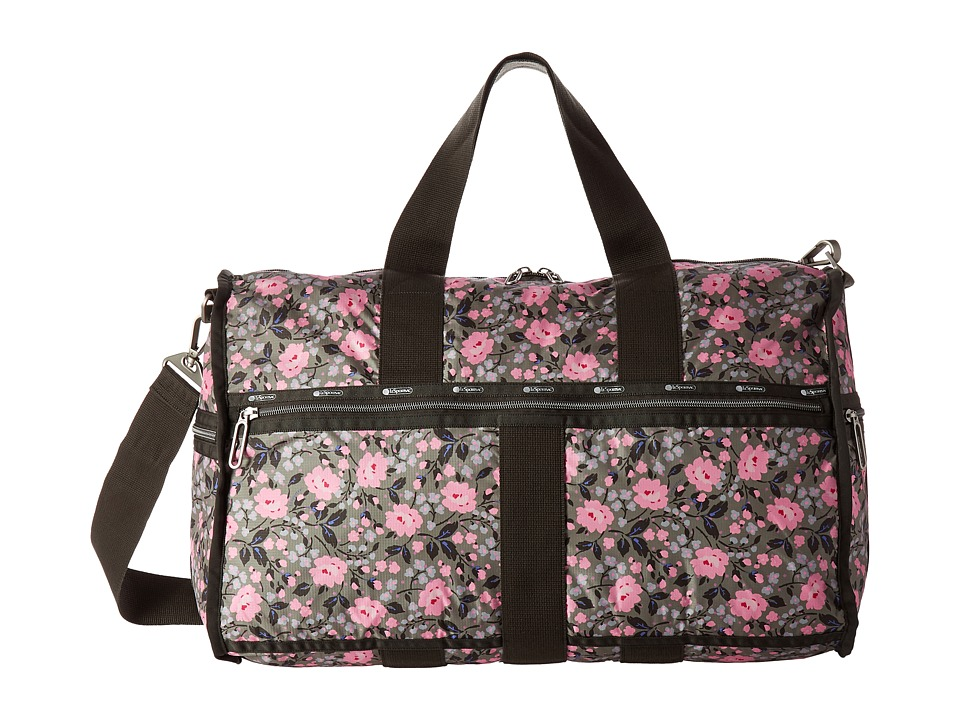 LeSportsac Luggage - Large Weekender (Pink Rosette) Weekender/Overnight Luggage