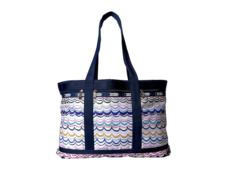 LeSportsac Luggage - Travel Tote (Dimple Blue) Bags