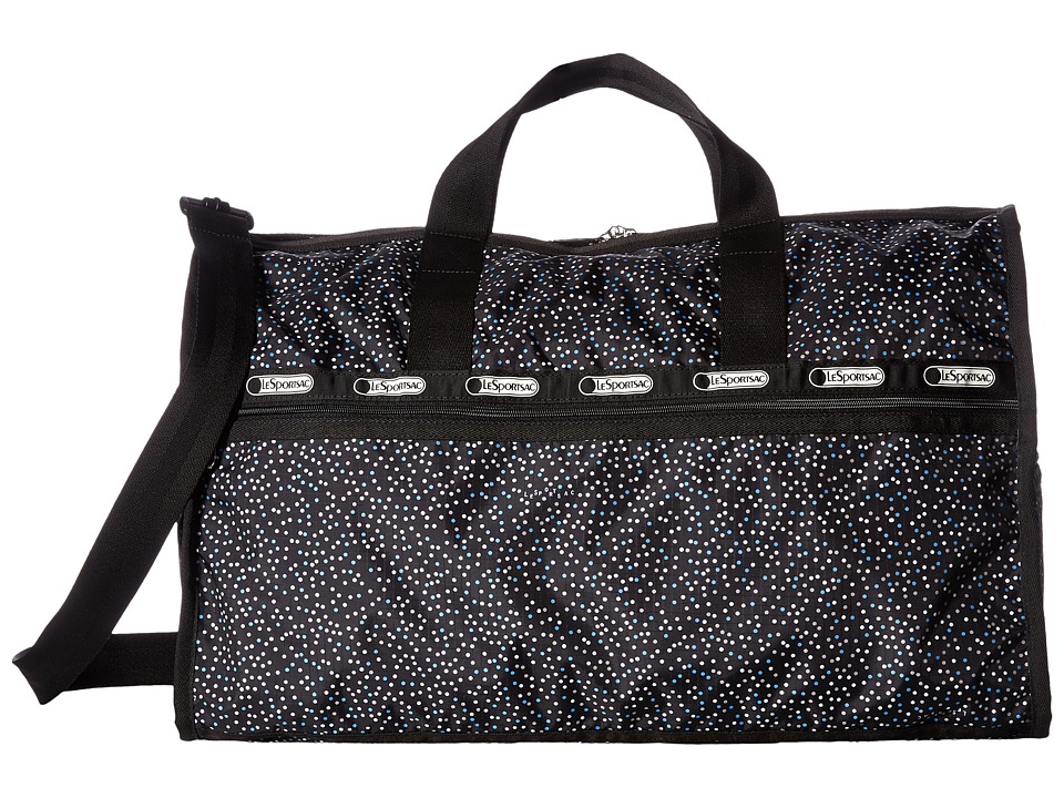 LeSportsac Luggage - Large Weekender (Confetti Dot Blue) Duffel Bags