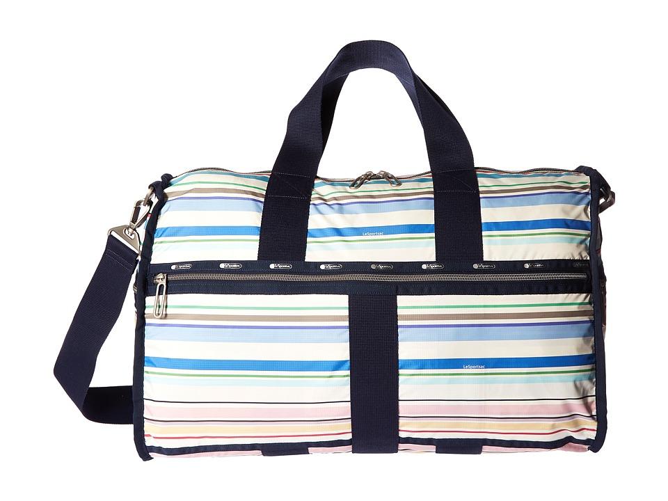 LeSportsac Luggage - Large Weekender (Blossom Stripe) Weekender/Overnight Luggage