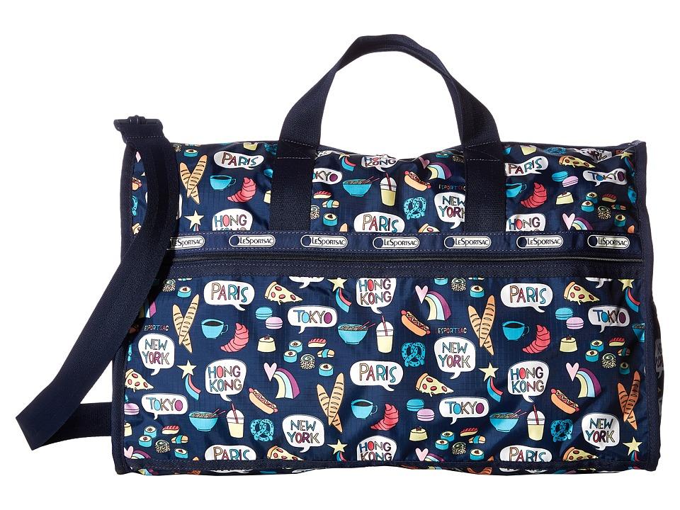 LeSportsac Luggage - Large Weekender (Food Talk) Duffel Bags
