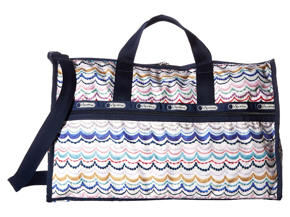 LeSportsac Luggage - Large Weekender (Dimple Blue) Duffel Bags