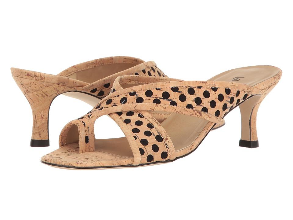 Vaneli - Merja (Natural/Black Cork) Women's Shoes
