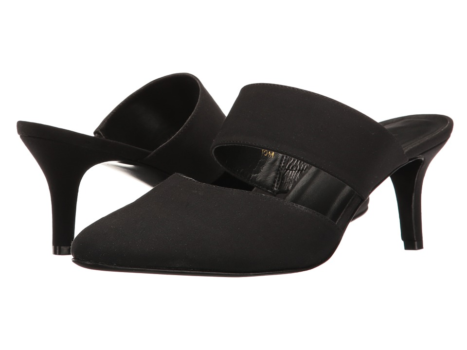 Vaneli - Lilybet (Black Pesca Fabric) Women's Shoes