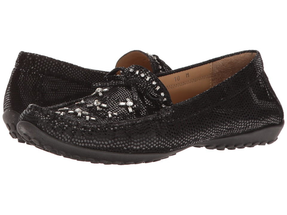 Vaneli - Adela (Black E-Print) Women's Clog Shoes
