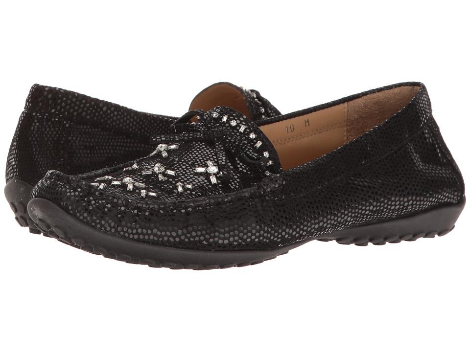 Vaneli - Adela (Black E-Print) Women's Clog Shoes