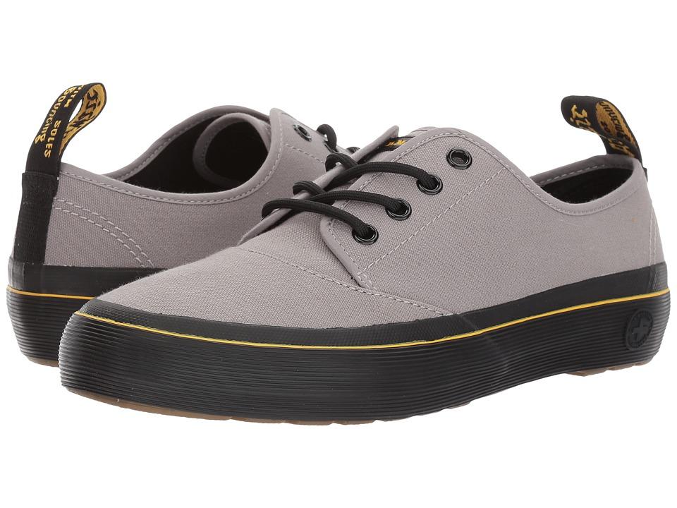 Dr. Martens Jacy 4-eyelet shoe (Mid Grey 10 Oz Canvas/Black T Lamper) Women