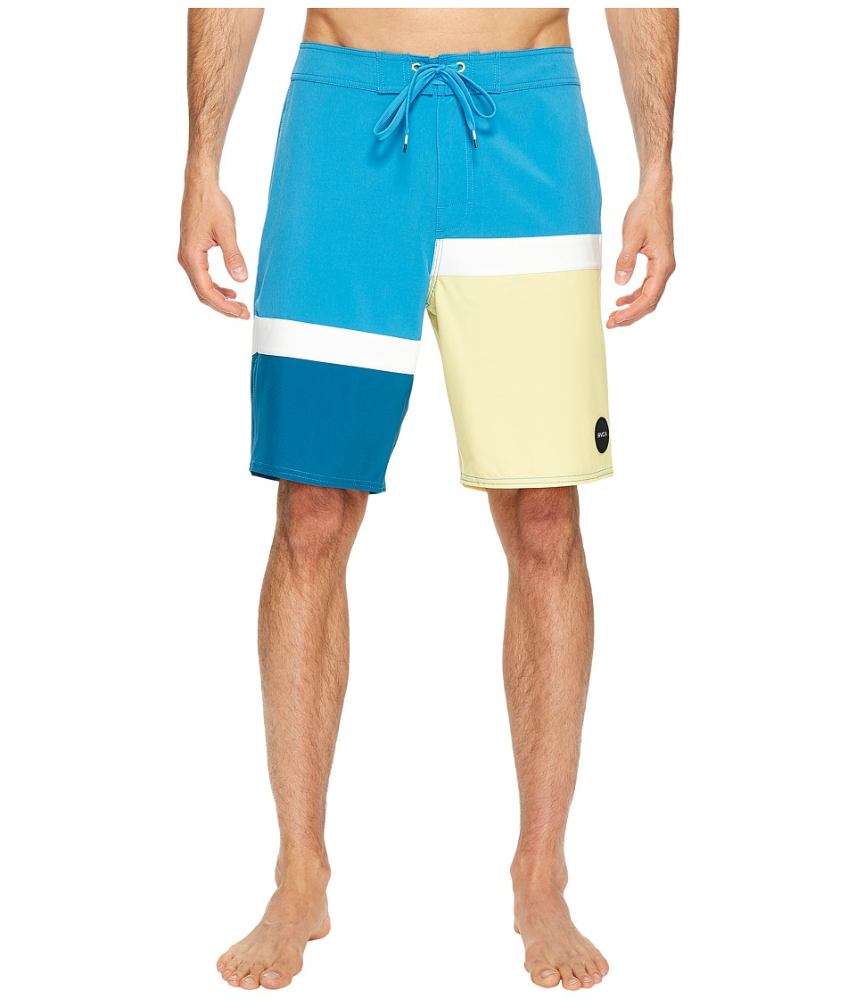 RVCA - Blocka Trunk (Blue Jay) Men's Swimwear