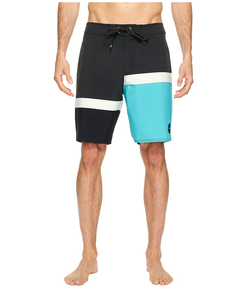 RVCA - Blocka Trunk (Pirate Black) Men's Swimwear