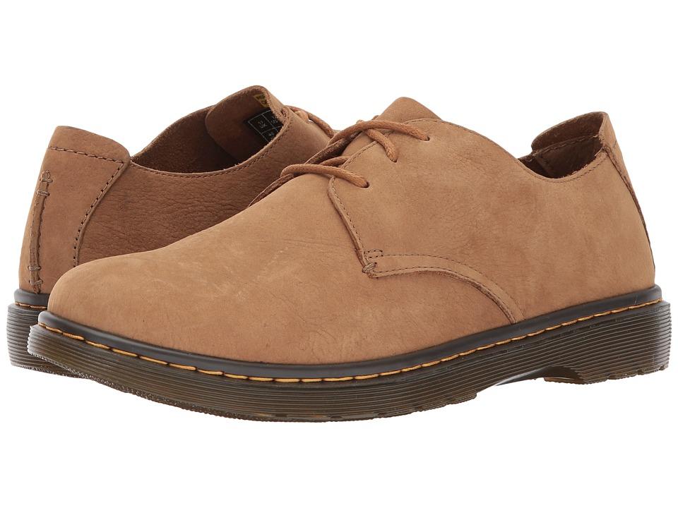 Dr. Martens Elsfield 3-Eye Shoe (Tan Slippery Wp) Men