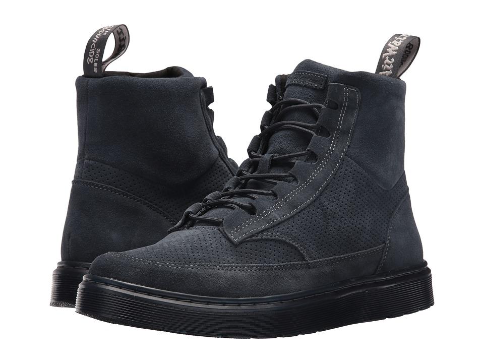 Dr. Martens Kamar Sneaker Boot (Dark Blue Hi Suede Wp/Dark Blue Perfed Hi Suede) Men
