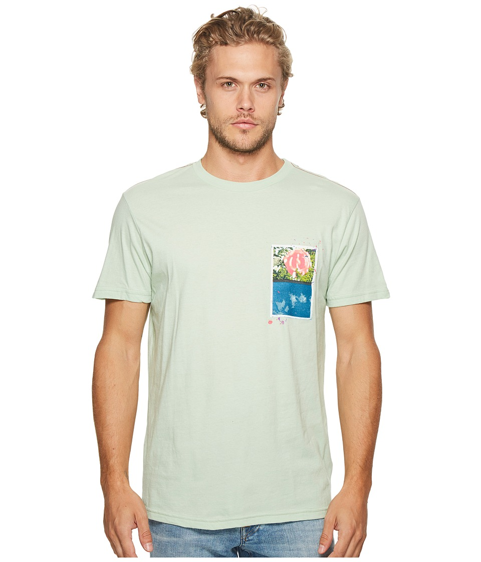 RVCA - Rose Sky Tee (Smoke Green) Men's T Shirt
