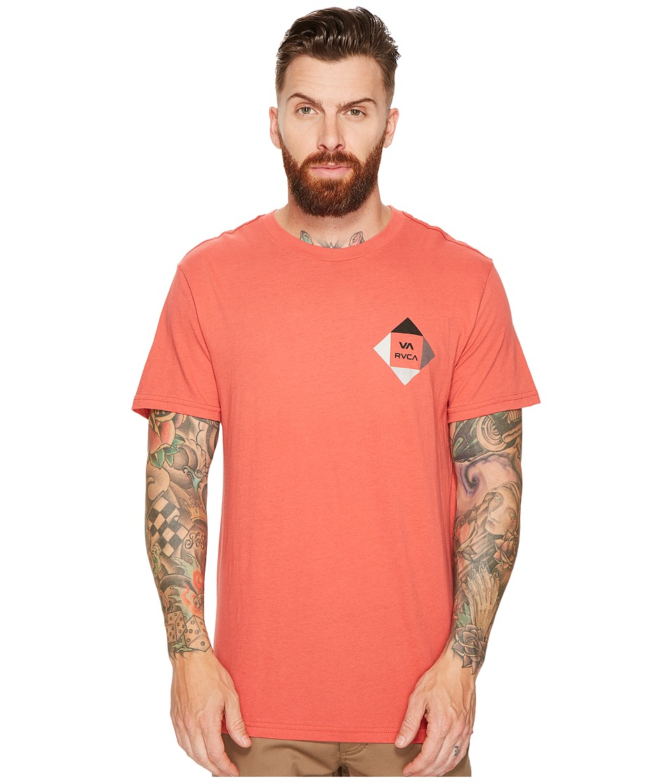 RVCA - All The Way 90 Tee (Baked Apple) Men's T Shirt
